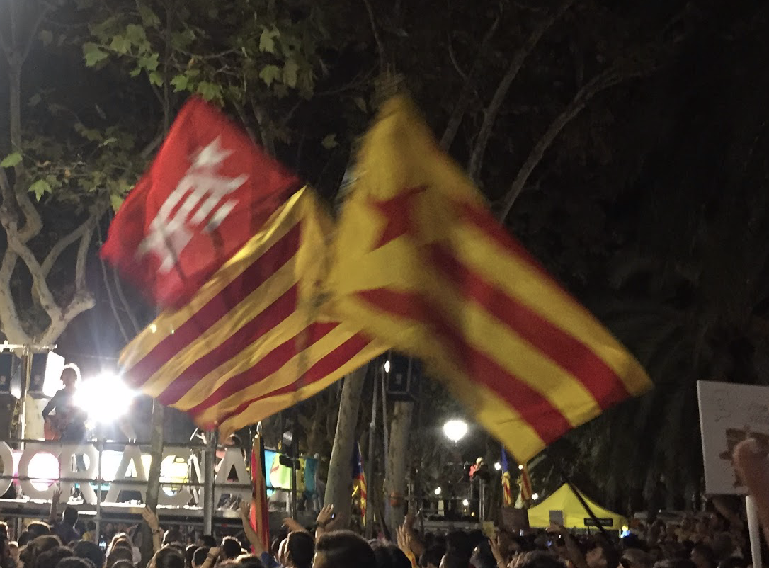 Catalan protest back in 2017
